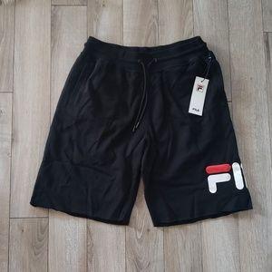 NWT Mens FILA Black Shorts!